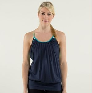Lululemon No Limits Tank in Inkwell/Assorted